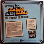 The Mamas & the Papas - The Best Of - California Dreamin'