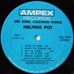 Melting Pot - Fire Burn, Cauldron Bubble