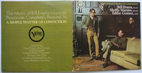 Bill Evans, Shelly Manne, Eddie Gomez - A Simple Matter of Conviction