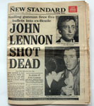 The New Standard - 09.12.1980 - John Lennon Shot Dead