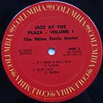 The Miles Davis Sextet - Jazz At The Plaza Vol. 1