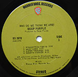 Deep Purple - Who Do We Think We Are!