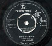 The Beatles - Can't Buy Me Love / You Can't Do That