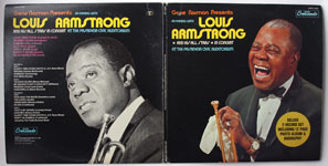 Louis Armstrong - An Evening With Louis Armstrong And His All Stars In Concert At The Pasadena Civic Auditorium