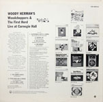 Woody Herman's Woodchoppers & The First Herd Live at Carnegie Hall