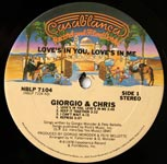Giorgio & Chris – Love's In You, Love's In Me