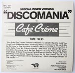 Café Créme - Discomania / California - I Can Hear Music